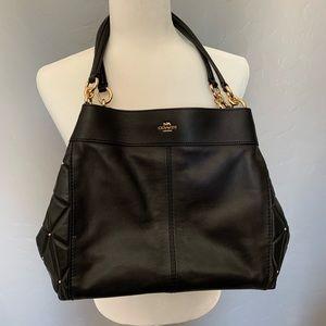 Original leather Coach handbag